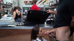 XXX PAWN - Latina Airline Stewardess Desperate For Money