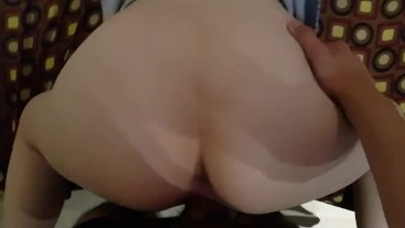 Creampie to my step sister
