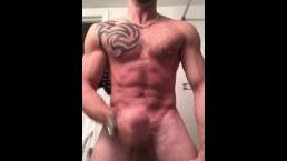 Muscle Jerk & Cum