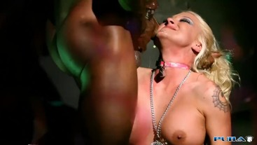 Pink Asshole Pounded and Stretched By BBC for an Anal Creampie
