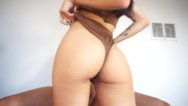 Dick Riding and Creampie with Avery Black