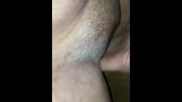 My husband fingering until I cum an piss
