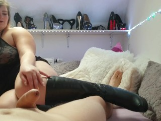 Soda Can Thick Cock Teeny Gets Fucked In Boots, Bbw Big Tits Blonde Fetish Teen German