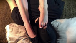My Feet Get Worshiped And Licked Clean