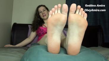 Cum for Goddess Feet