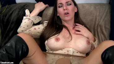 Step Mother Makes You Eat Her Pussy - Taboo MILF Kristi - Pussy Eating
