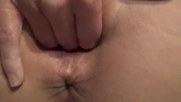 Juicy Gape Extreme closeup