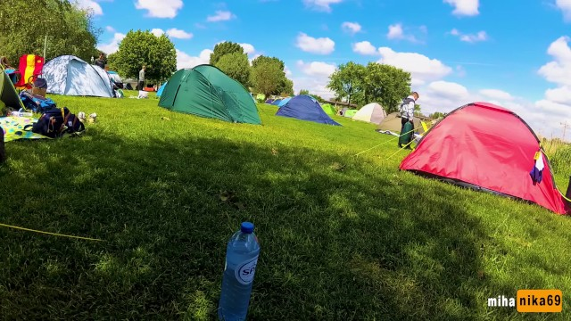 Amsterdam teen pussy videos Very risky sex in a crowded camping amsterdam public pov by mihanika69