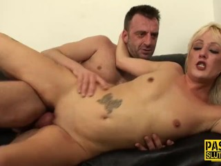 Jeans Grinding Fucking, Skinny milf sub pounded Blonde Blowjob Hardcore MILF Small Tits Rough Sex