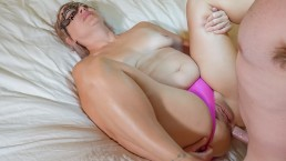 HUSBAND FUCKS ANAL CHEATING WIFE IN ASS WHILE HEARING ABOUT HER LOVER