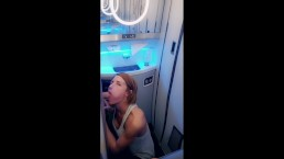REDHEAD MILF JOINS THE MILE HIGH CLUB AND FUCKS AROUND MIAMI