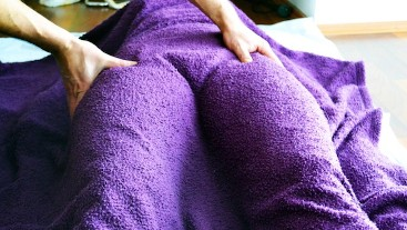 Soft and Sensual Massage - European BABE - Foreplay before SEX
