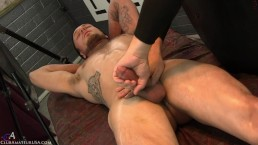 Corey moaned as my finger kept prodding his prostate