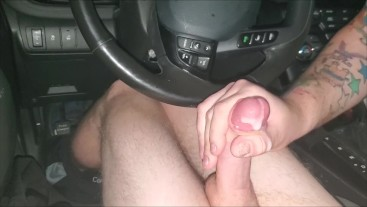 "18yo College Ginger Twink Pornhub Fan 7.5"" Dick Sucked Off in Car Cumshot"