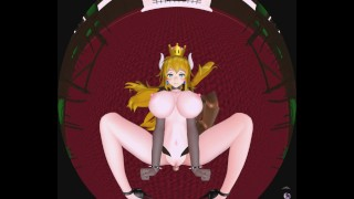 Bowsette Missionary Hardcore [4K VR HENTAI]