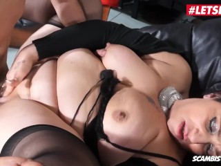 LETSDOEIT – Chubby Italian Mom Squirts Getting Fucked By Her Step Son