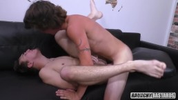 Straight 18 Year Old Fucks Gay Friend Bareback