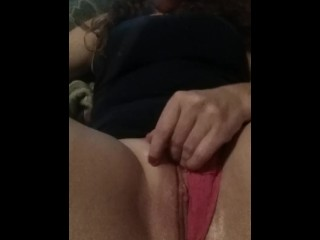 Playing with my tight♡wet♡pussy.♡