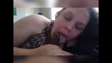 Daddy loves when i play with his cock