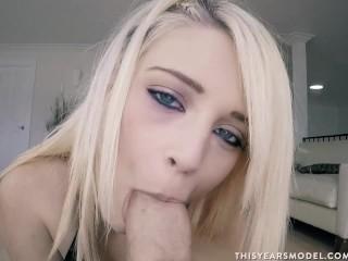 Video Blonde Porn This Years Blowjob! O The Irony! Big Dick Blonde Blowjob Pornstar Teen
