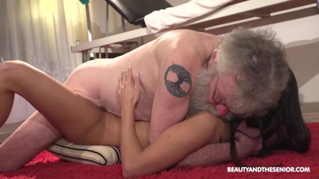 Senior citizen porn movies Fresh pussy rejuvenates old citizens old cock