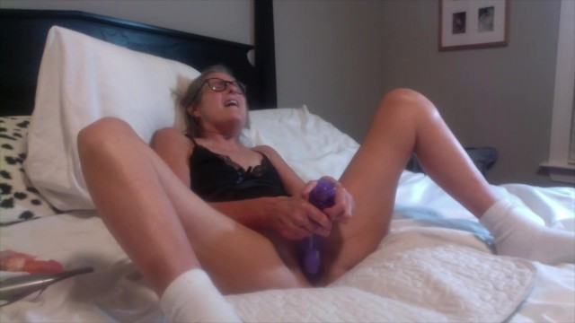 Granny senior adult hard core sex porn Hot milf fucks huge dildo cums hard 60 year old granny mature solo female