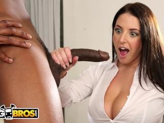 Shweta Tiwari Sex Tape Fucking, BANGBROS- Busty angelA White Takes a Big Black Cock In Her ass Babe
