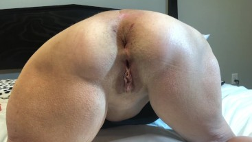 Hot MILF Gets Her Ass Reamed With HUGE Buttplug 60 Year Old Mature Granny