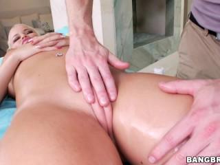 Free Antique Xxx Porn Fucking, BANGBROS- Blonde Pornstar nikki Delano Receives Sensual Massage Big a