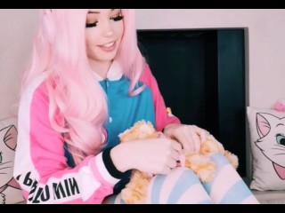 Belle Delphine plays with her PUSSY