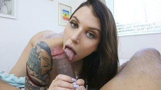PervMom - Hot Curvy Milf Drains Her Stepsons Balls