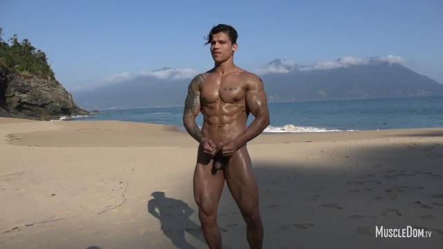 Gay beach miami beach - Sexy muscle worship on the beach