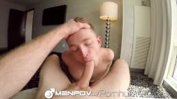 MenPOV Jogging buddies take a sex break