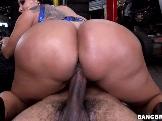 Bangbros kiara mias big ass fucked at the mechanic shop