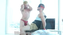 GayRoom Hands Bound And Tight Ass Fucked
