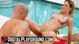 Digital Playground – Hot milf Cherie Deville takes big dick outdoors