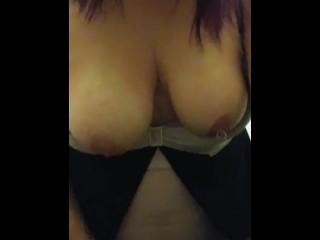 Dirty Talking while Masturbating Before Bed