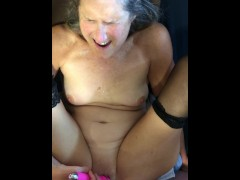 Hot MILF Gets Pussy Fucked Deep Mature 60 Year Old Granny