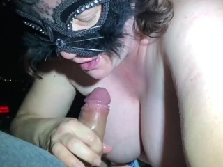 Wife Cheating xxx: Cheating Wife takes on submissive role while deepthroat training
