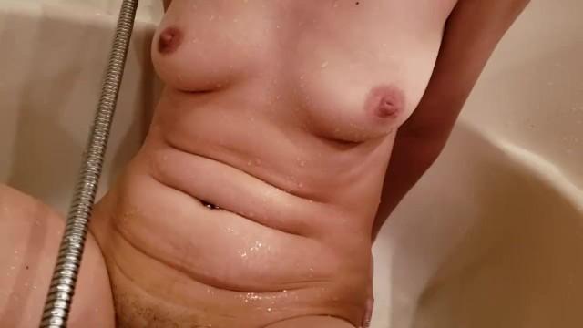 stuffed Shower pussy head in