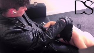 Boy Worships Master's Dick