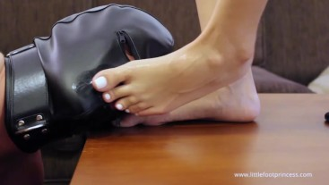 Slave Cum Eating Compilation From My Feet | Little Foot Princess