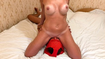 The Magic of Facesitting. Milf rides his face and gets fucked in doggystyle