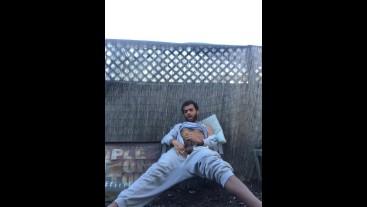 Public Onesie Garden Wank Off in Garden *Nearly Caught* - RockMercury.com