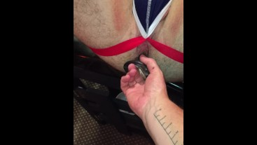 Lad fucked in Sling, Czech Fantasy and bench.