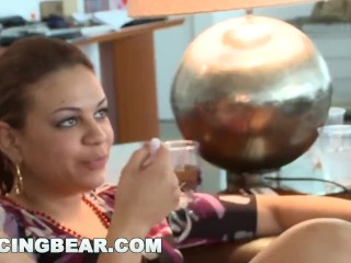 DANCING BEAR – CFNM Bachelorette Loft Party With Big Dick Male Strippers