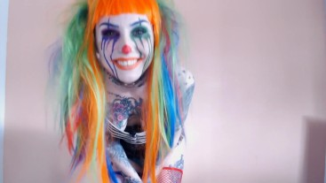 Captured by a Psycho Clown