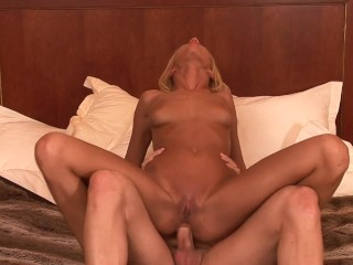 Brittany murphy sexy blue lingerie wife fucks bbc while hubby films rough big boobs mom mother wife amat