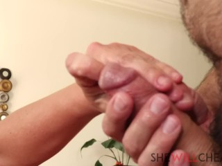 Cock cunt gripped huge newbie knows how to use his cock shy guys first experience with a