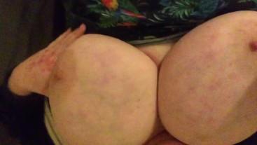Nipple play and tit slaps